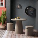 Kave Home Ronde Eettafel 'Sari' 90cm, kleur Grijs