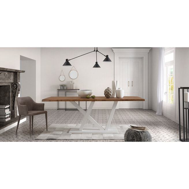 Kave Home Ronde Spiegel 'Icon' set van 2, kleur koper