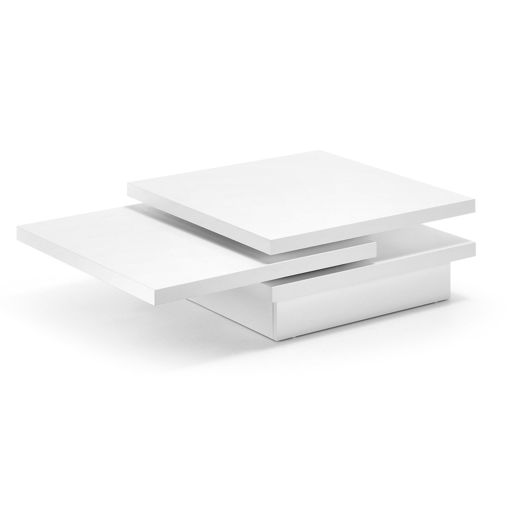 Kave Home Salontafel 'Kiu', kleur wit