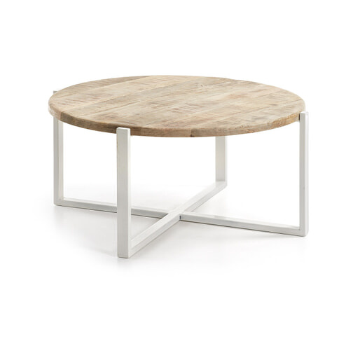 Ronde Salontafel Wit Hout.Ronde Salontafel Hout Kopen Grote Collectie Meubelpartner