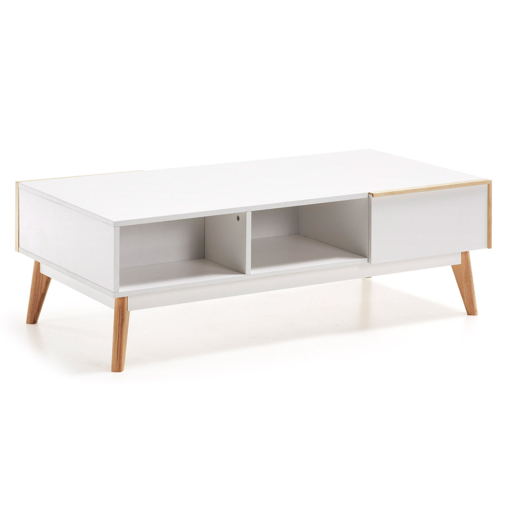 Kave Home Salontafel 'Melan', met 2 laden