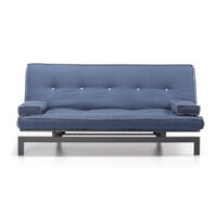 Kave Home Slaapbank 'Joy', kleur Donkerblauw