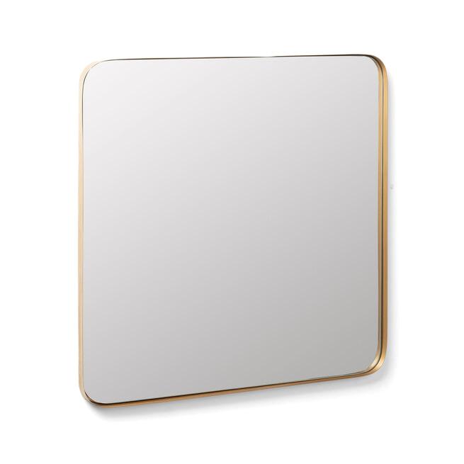 Kave Home Spiegel 'Marco' 60 x 60cm, kleur goud