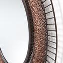Kave Home Spiegel 'Rob' 90cm, kleur Koper