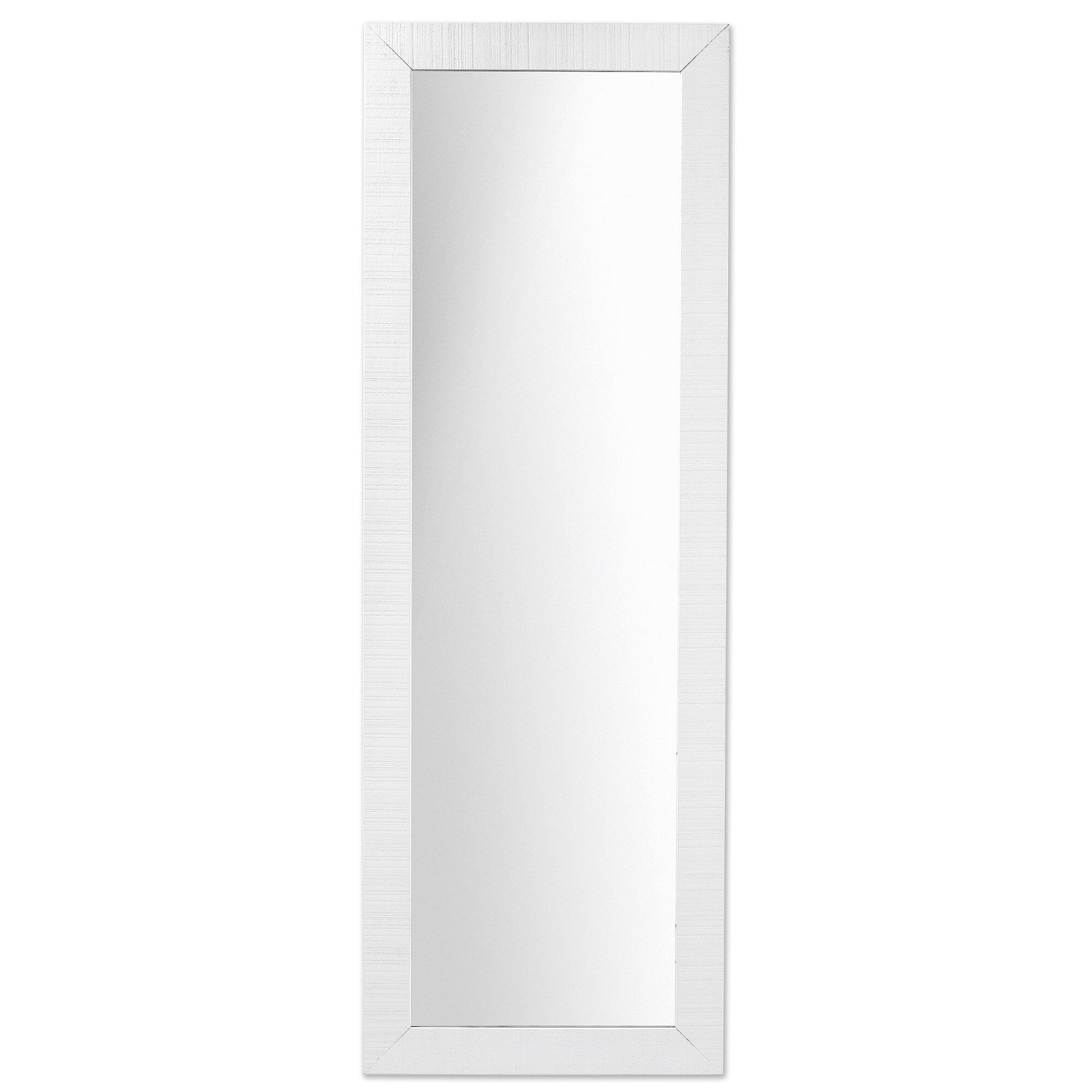 Kave Home Spiegel 'Seven', 152 x 52cm, kleur wit