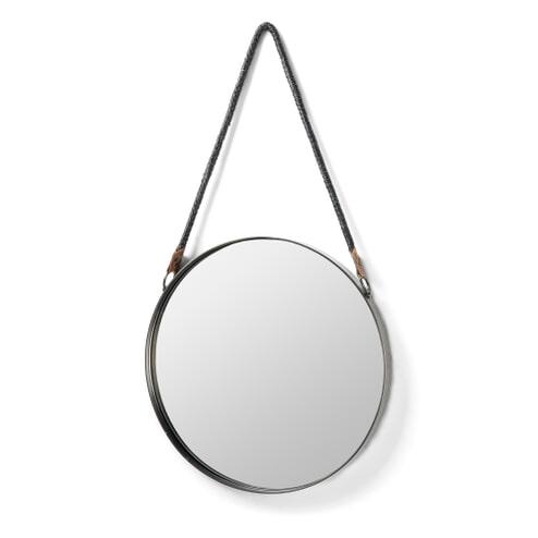 Kave Home Spiegel 'Steft', 39cm, kleur Zilver