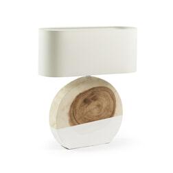 Kave Home Tafellamp 'Ailin' kleur Wit