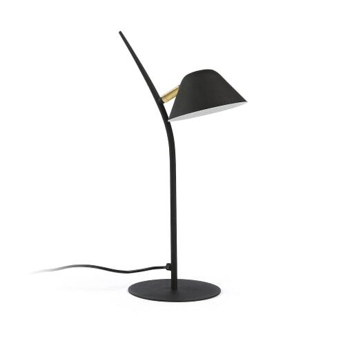 Kave Home Tafellamp 'Aurelia' kleur Zwart