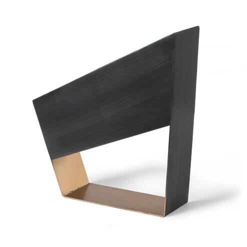 Kave Home tafellamp 'Bidi', kleur zwart