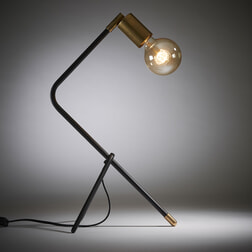 Kave Home Tafellamp 'Jana' kleur Zwart