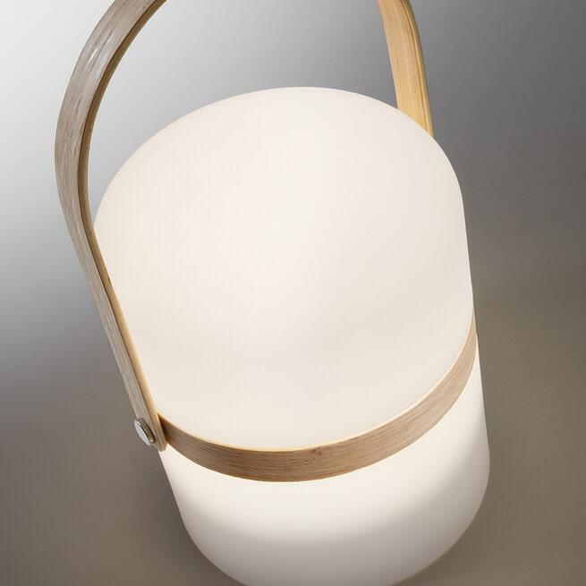Kave Home tafellamp 'Ridley' LED, oplaadbaar