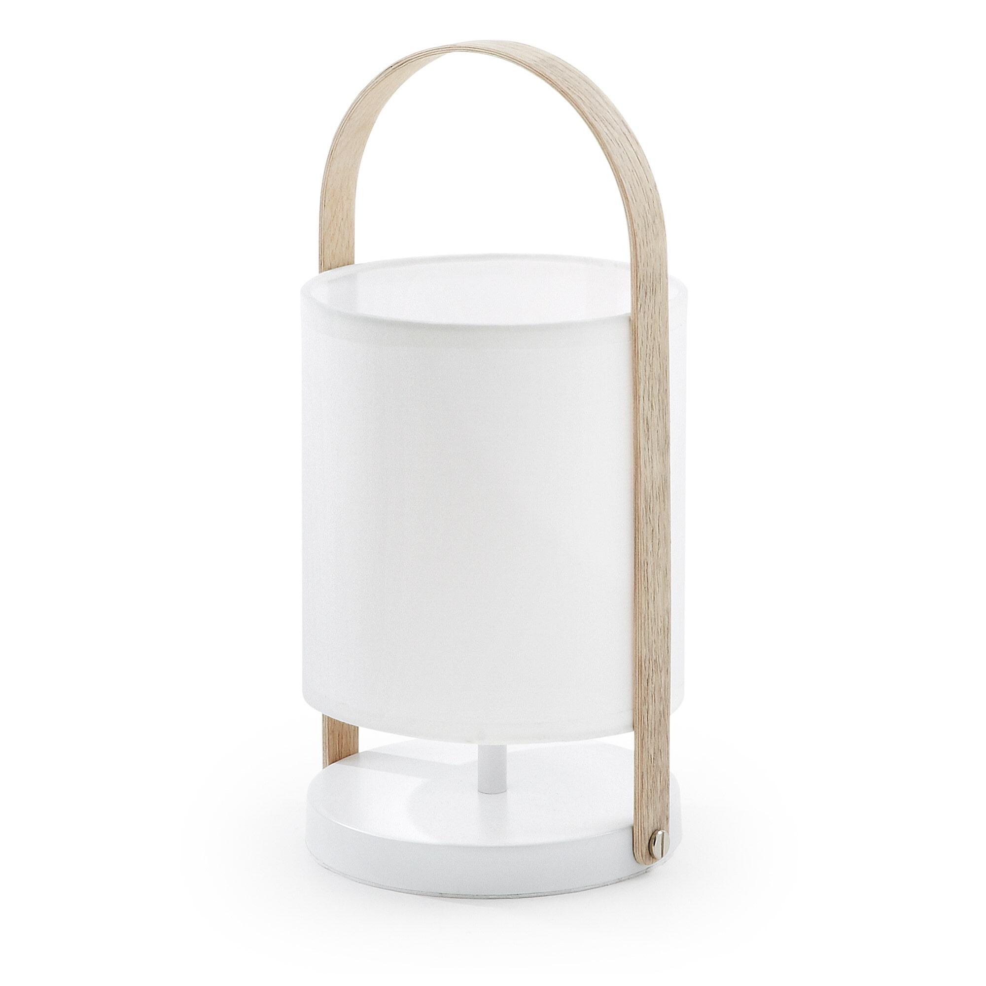Kave Home Tafellamp 'Zayma' kleur wit
