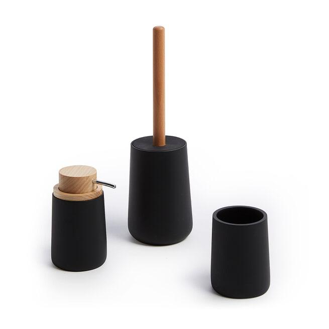 Kave Home Toiletborstel 'Jenning', kleur Zwart