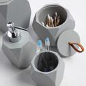 Kave Home Toiletborstel 'Lyndo', kleur Grijs