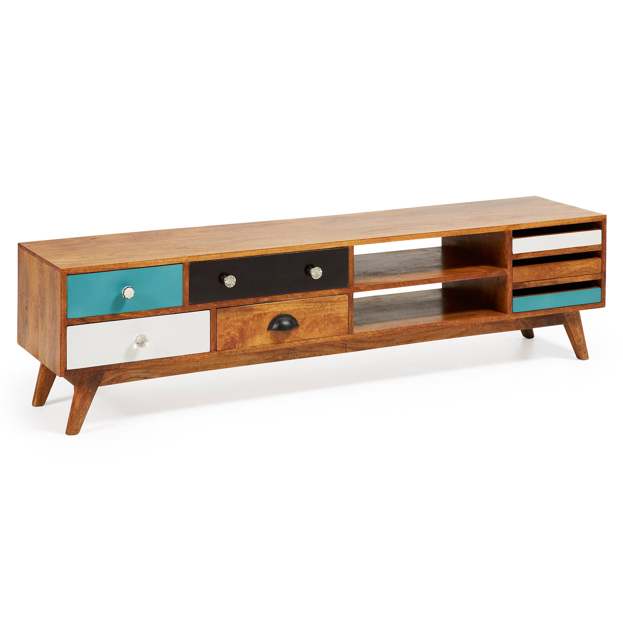 Kave Home Tv-meubel 'Conrad', met 7 laden