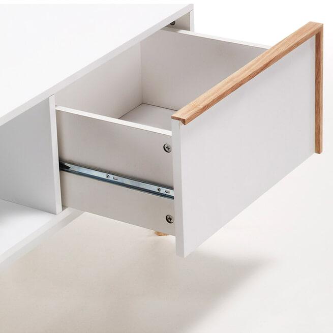 Kave Home TV-meubel 'Melan', met 2 laden