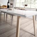 Kave Home Uitschuifbare Eettafel 'Eunice' 140/220 x 90cm