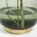 Kave Home Vaas 'Janae' 33cm hoog, kleur Groen