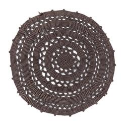 Kave Home Vloerkleed 'Dry' 100cm, kleur Grijs