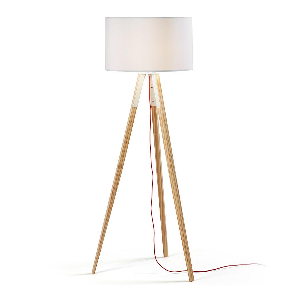 Kave Home Vloerlamp 'Iguazu' kleur Wit