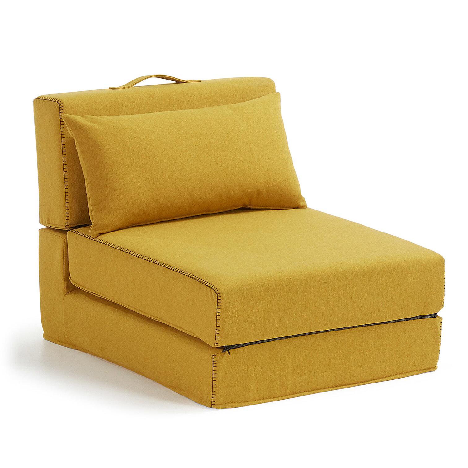 Kave Home Vouwbed 'Arty' kleur geel