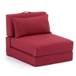 Kave Home Vouwbed 'Arty' kleur rood