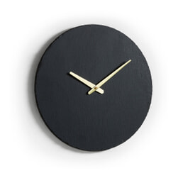 Kave Home Wandklok 'Wenig' 40cm, kleur Zwart