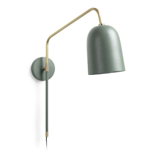 Kave Home Wandlamp 'Audrie', kleur Groen