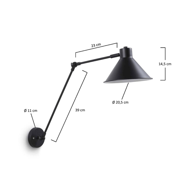 Kave Home wandlamp 'Dione'