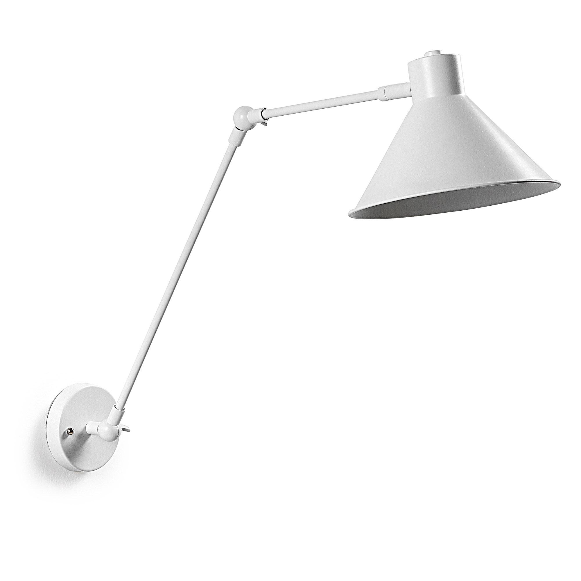 Kave Home wandlamp 'Dione', kleur wit