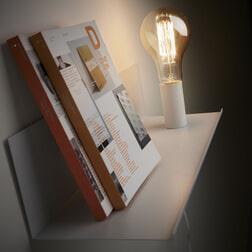 Kave Home Wandlamp 'Hannah' 50cm, kleur Wit