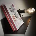 Kave Home Wandlamp 'Hannah' 50cm, kleur Zwart
