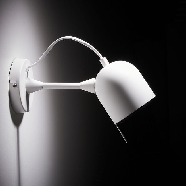 Kave Home Wandlamp 'Lucilla', kleur Wit