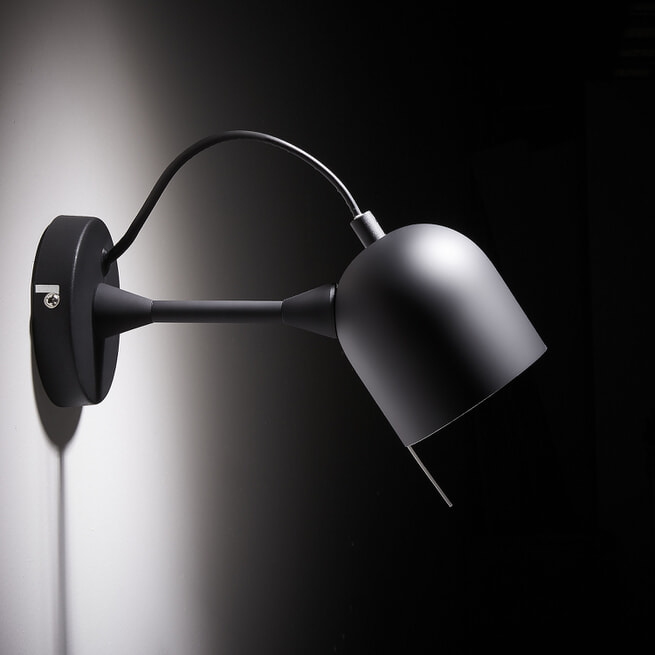 Kave Home Wandlamp 'Lucilla', kleur Zwart