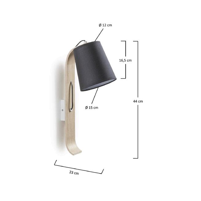 Kave Home wandlamp 'Repcy'