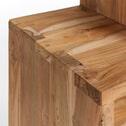 Kave Home Wandmeubel 'Aroba' 132cm hoog, kleur naturel