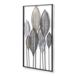 Kave Home Wandpaneel 'Leaves' 95 x 52cm