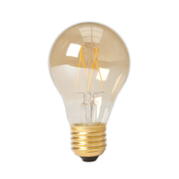 Kooldraadlamp 'Bol' E27 LED 4W goldline, dimbaar