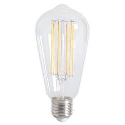Kooldraadlamp 'Peer' E27 LED 4W helder extra-warm-wit, dimbaar