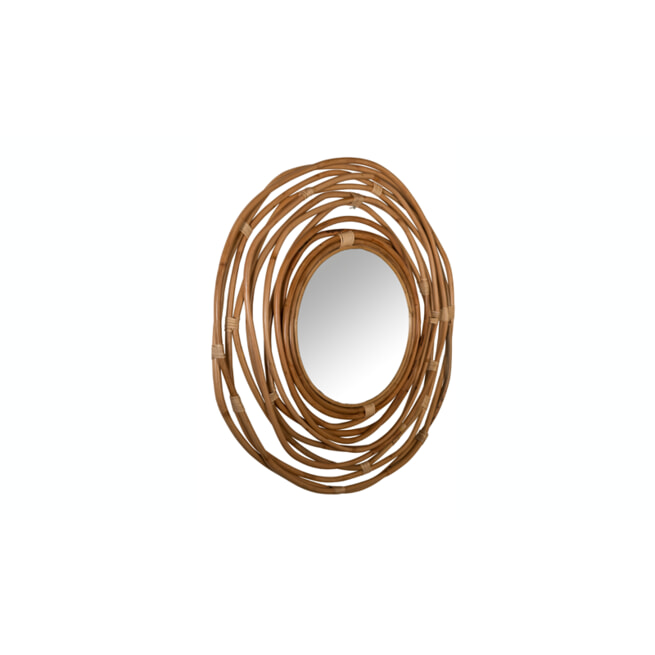 Dutchbone Ronde Spiegel 'Kubu' 75cm