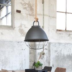 LABEL51 Hanglamp 'Korf', kleur Grijs
