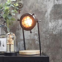 LABEL51 Tafellamp 'Grid', Metaal, kleur Zwart