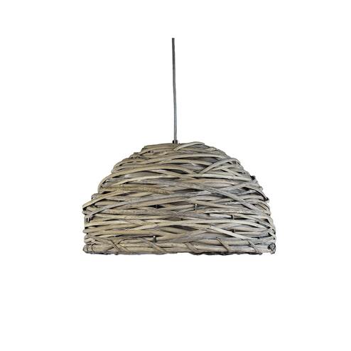 LABEL51 hanglamp 'Riet Crazy Weaving' 39 cm
