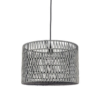 LABEL51 hanglamp 'Stripe' 45cm, kleur grijs