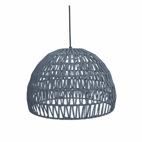 LABEL51 hanglamp 'Touw' large, kleur Grijs