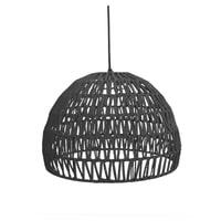 LABEL51 hanglamp 'Touw' large, kleur Zwart