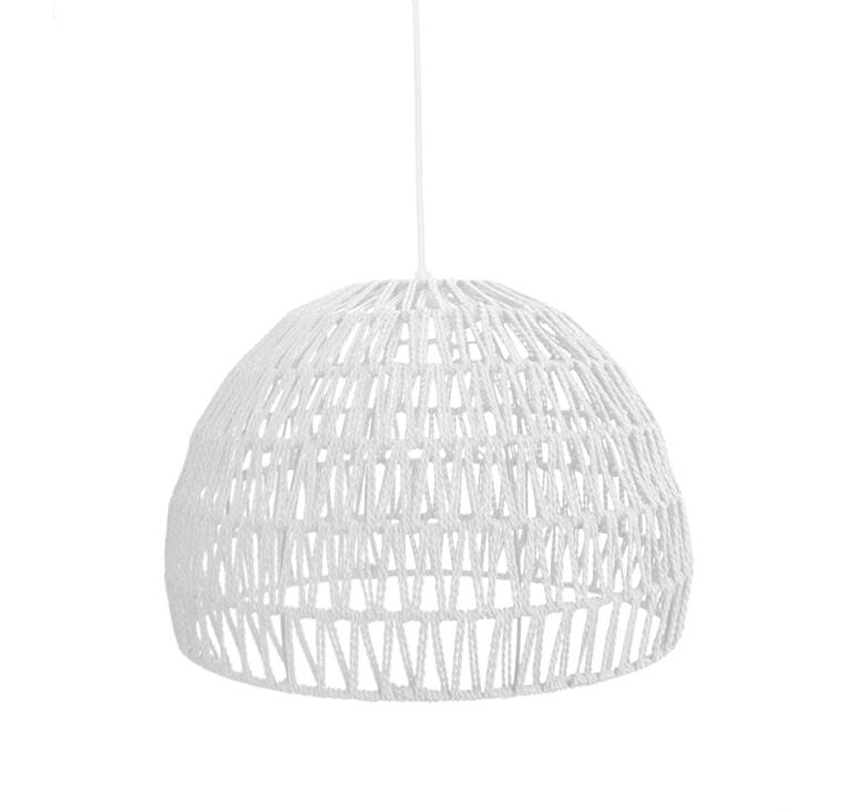 LABEL51 hanglamp 'Touw' small, kleur Wit