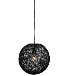 LABEL51 hanglamp 'Twist' 45 cm, kleur zwart