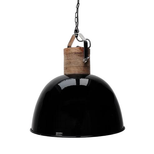 LABEL51 Industriële Hanglamp 'Nordic L', kleur Zwart