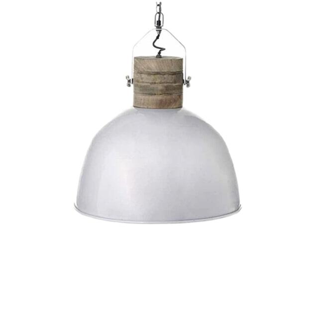 LABEL51 Industriële Hanglamp 'Nordic M', kleur Wit
